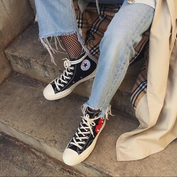 Vinagre Fortalecer Polinizador  Comme des Garcons Shoes | Converse Comme Des Garon Size 8 Women ...